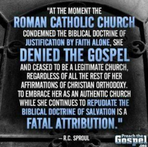 Rome-departed-from-the-gospel