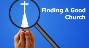 find a good church